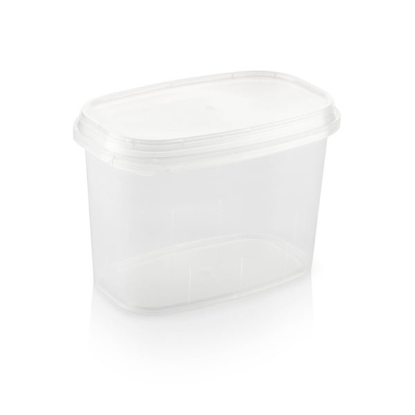 plastic bubbles containers tubs and lids 1.5L tub and lid