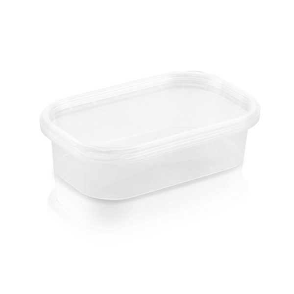 plastic bubbles containers tubs and lids 125ml tub and lid