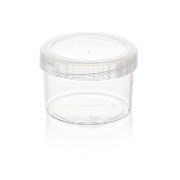 plastic bubbles containers tubs and lids 35ml mini tub and lid