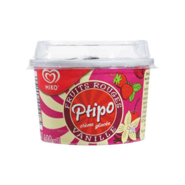 Plastic Bubbles Maurilait Ptipo cup