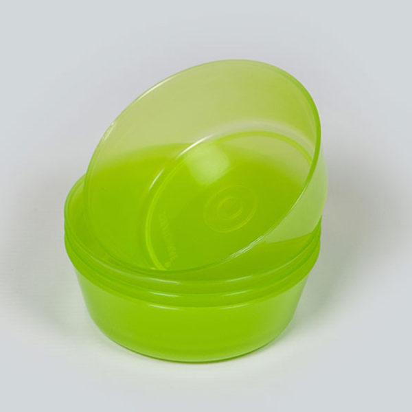 Plastic Bubbles 4x11cm Snack Bowl 01
