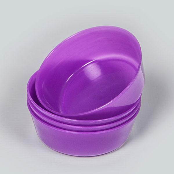 Plastic Bubbles 4x11cm Snack Bowl 03
