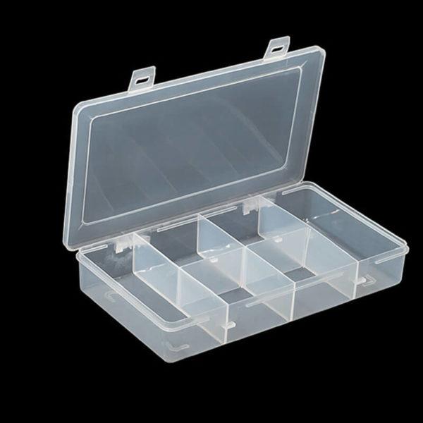 Plastic Bubbles 6 Division Mega Utility Box