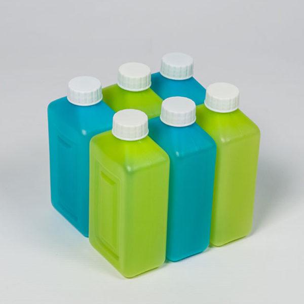 plastic bubbles 6 x 350ml juice bottles