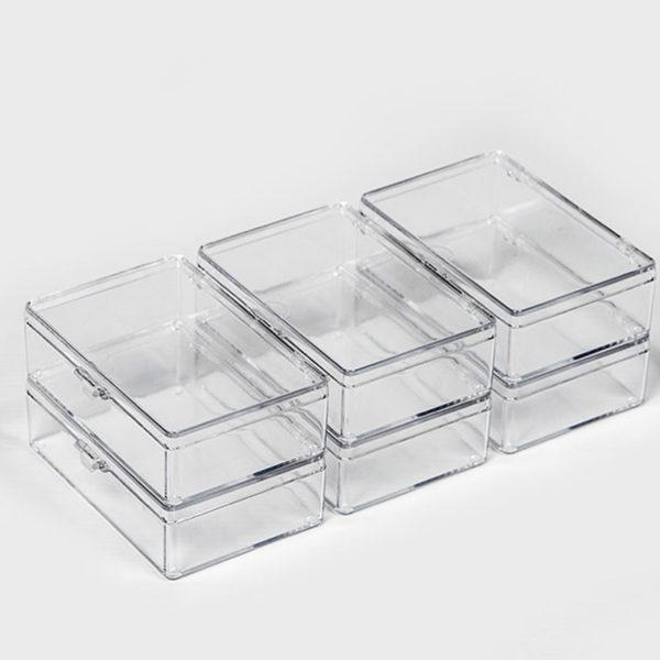 Plastic Bubbles 6 x Small Utility Boxes