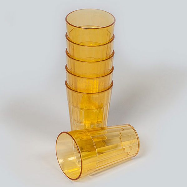 Plastic Bubbles 6x280ml Tinted Tumblers 02