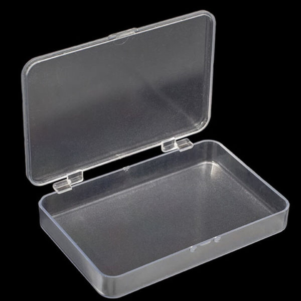 Plastic Bubbles Slim Frosted Utility Box