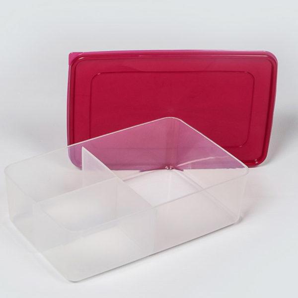 Plastic Bubbles 3 Division Lunch Box 02
