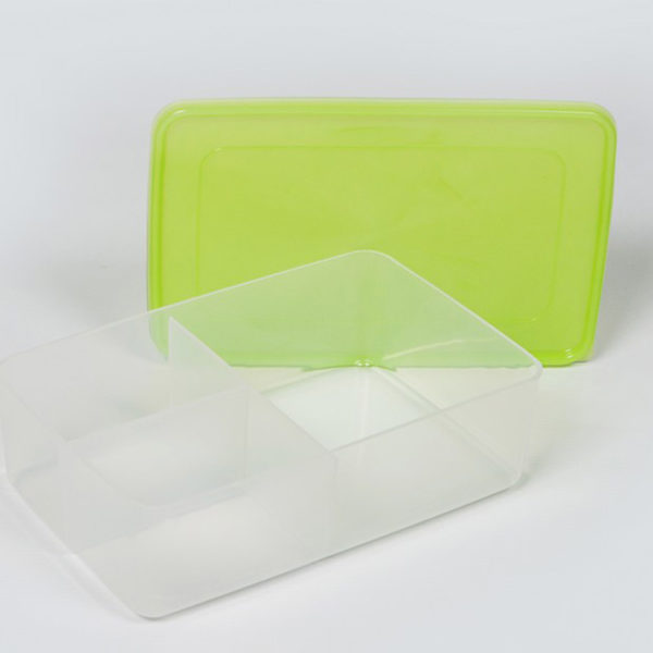 Plastic Bubbles 3 Division Lunch box 03