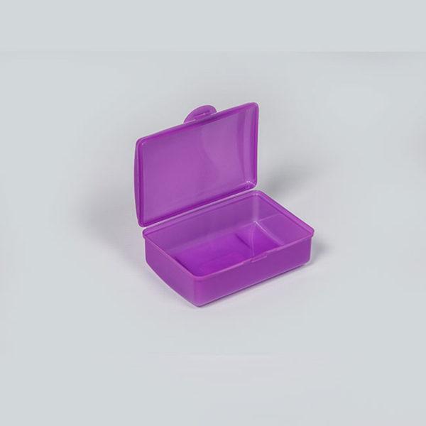 Plastic Bubbles Hinged Soap Box 04